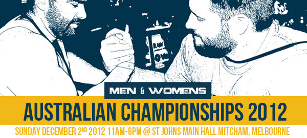 Australian Armwrestling Championships 2012