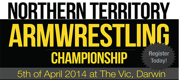 Northern Territory Armwrestling Championships 2014