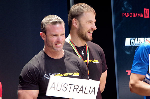 Australia at the 2014 World Armwrestling Championships