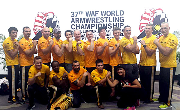 Armwrestling Armwrestling Team World Championships Malaysia 2015