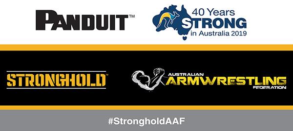 Stronghold Panduit Armwrestling Sponsorship