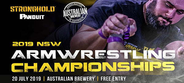 NSW Armwrestling Championships 2019